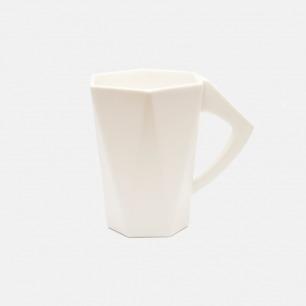 防尘杯 六边形陶瓷水杯 | 上宽下窄的六边形设计