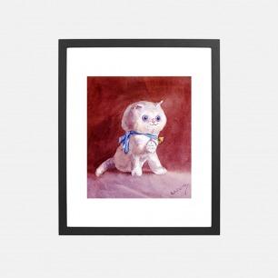 菲菲的小猫 装饰画(定制品15个工作日内发货)