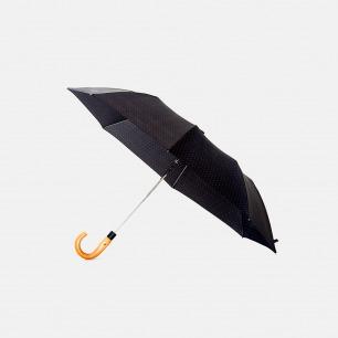 纯黑绅士雨伞 枫木手柄 | 伞布抗水速干 低调简约