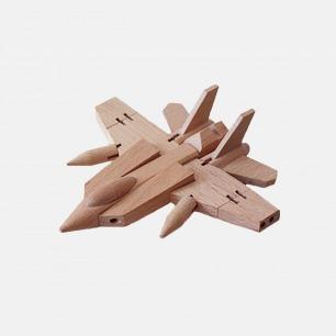 益智拼装模型 木质战斗机   德国榉木制造 坚实稳固耐玩
