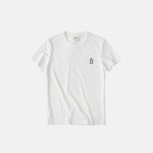新款 全棉圆领短袖T恤 刺绣葫芦T