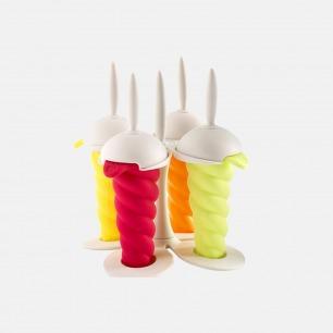 创意螺旋冰棍/冰棒模具×4   法国Mastrad品牌制造