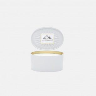 Vermeil系列椭圆装饰罐-波旁香草