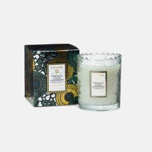 japonica系列蕾丝杯蜡-法国杜松与薰衣草