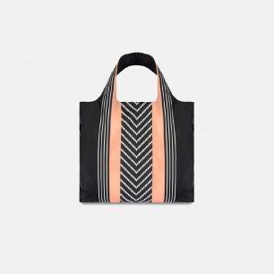 承重20kg 德国LOQI 条纹折叠超轻便携防泼水环保购物袋