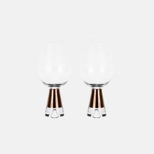 镀铜红酒杯 | TANK系列 人工吹制工艺【一对】