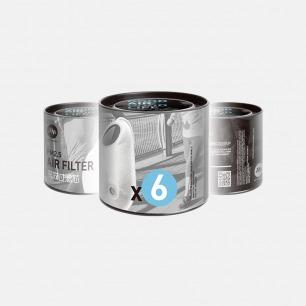 AIRMOTION口罩滤芯 | 最高标准检测高达90%过滤【6片装】