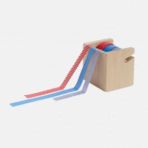 木质胶带固定架 | 北欧设计风格 天然木质