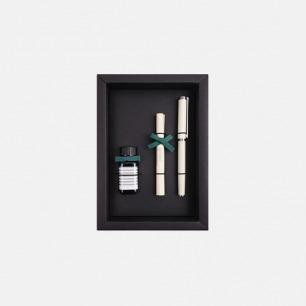 贝克系列钢笔墨水礼盒 象牙白
