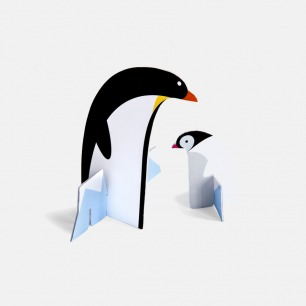 Pop out Penguins Pop out (企鹅)