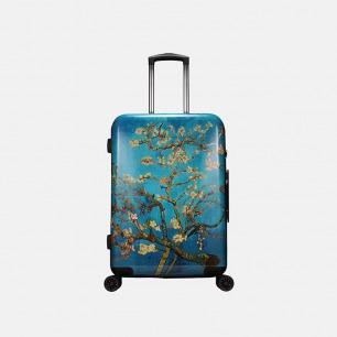 梵高限定杏花系列 人体工程学旅行箱(两款可选)