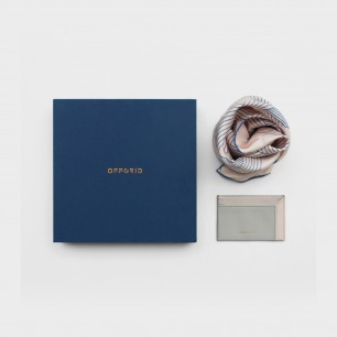 WHITE HOLIDAY 丝巾卡包礼盒