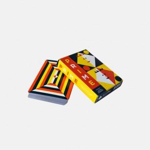 美国Prime Playing Cards 扑克牌纸牌   设计师合作款 绝美几何插图