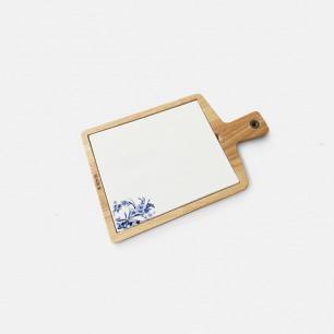 瓷木结合创意中国风芝士板