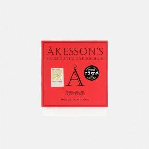 英国Akesson's 100% Criollo马达加斯加单源黑巧克力