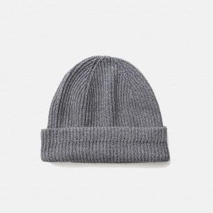 百搭毛线针织帽 男女同款 | 颜色含蓄自然 耐看耐穿