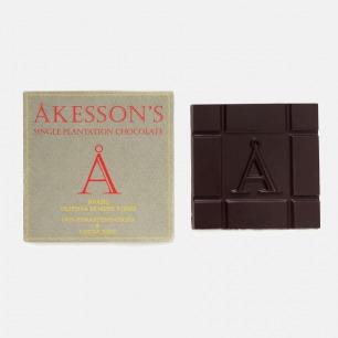 英国Akesson's 100%Forastero巴西单源黑巧克力