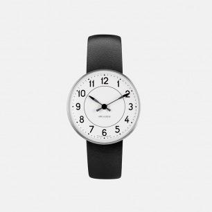 丹麦传奇设计师心水之作 station系列极简腕表