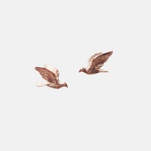 胶囊系列 Pigeon信鸽耳钉【三色可选】