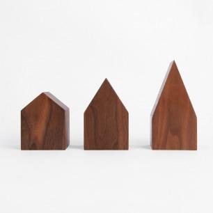 黑胡桃木屋顶音乐盒 带你进入童话世界(多款可选)