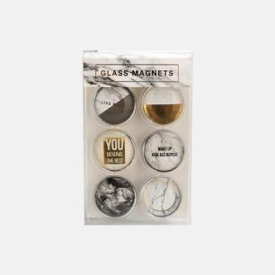 玻璃磁扣 | 大理石系列