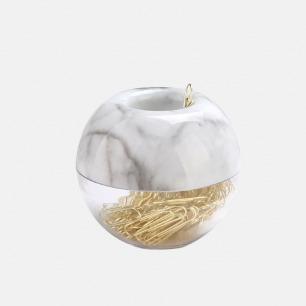 苹果回形针筒 | 大理石系列