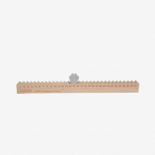 法国木质金属月历 | 造型简约独特 饶有趣味