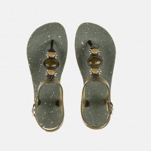 UNO LUXURY 女士一字凉鞋 | 异域风情系列【多色可选】