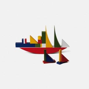 包豪斯建筑游戏 | 包豪斯设计 色彩结构 德国制造