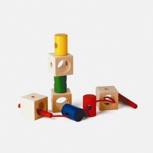 希格纳穿线积木 | 德国优良玩具认证