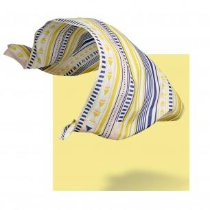 MEASURE  丝棉几何图案大长巾   原创设计师品牌