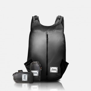 可折叠收纳旅行包 | 手掌大小 仅重149g 防水耐磨【24L灰色】