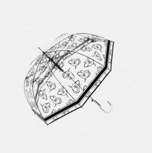 透明晴雨伞 | 原创设计 8骨直柄【多款可选】