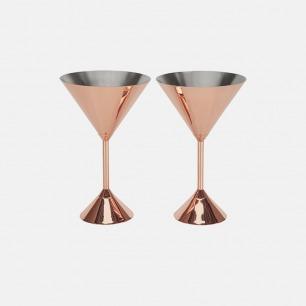 镀红铜鸡尾酒杯 | 美的像艺术品的酒器