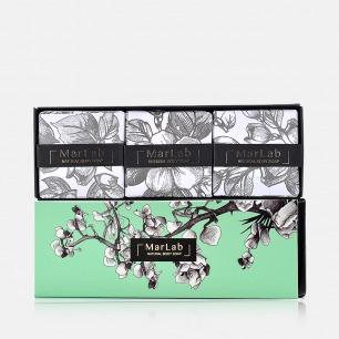仲夏夜花园香氛皂礼盒   天然温和 保湿修复提亮【3块装】