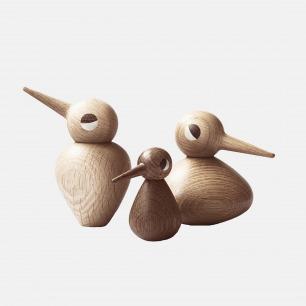 Bird family玩具小鸟 | 丹麦进口 手工制造【两色可选】