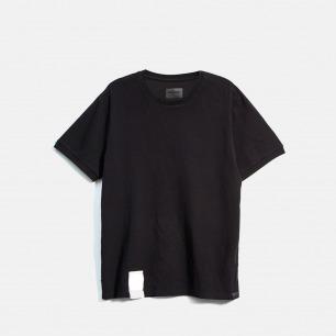 黑色舒适休闲简约基本短袖T恤