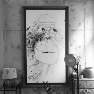 《流泪的猴子》收藏级版画/限量100版 | 画家亲笔签名 限量100版