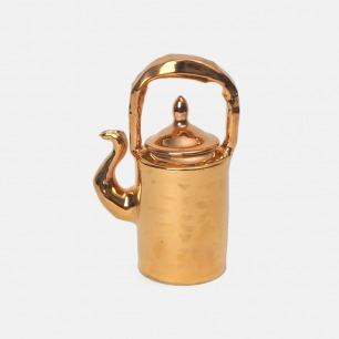 纯手工镀金茶壶 | 营造巴洛克宫廷下午茶