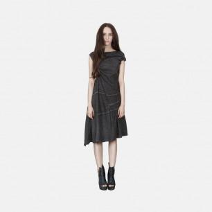 独特不规则不对称麻连衣裙 | 独立原创设计师品牌