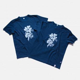 日本原产天然蓝染T恤 | 旅命款