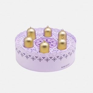 【特别款礼盒】蛋糕音乐盒水性胶囊甲油6支装