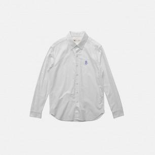 文艺牛津纺长袖衬衫   | 刺绣葫芦男款
