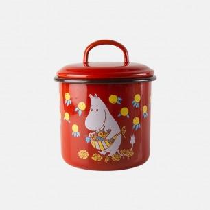 姆明搪瓷储物罐1.3L | 感受童话世界的浪漫生活