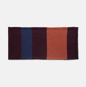 彩色羊毛围巾