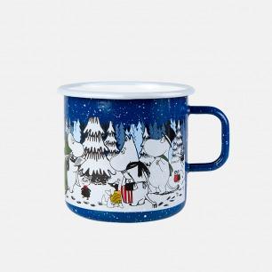 圣诞系列冬季森林搪瓷杯 | 温暖冬季每一刻