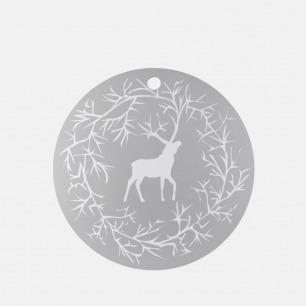 圣诞驯鹿系列 木质托盘