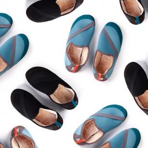 Fitkicks暖暖鞋-男鞋 | 抗菌防臭 加厚长绒毛保暖性更强【多色可选】