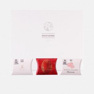 手工皂圣诞礼盒限量套装【三款可选】   纯子皂+珍珠皂+美人皂