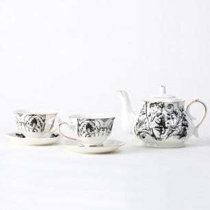 哥特主题茶具 | 茶壶杯碟套装
